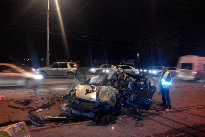 18-летний сын начальника ГИБДД стал виновником аварии, в которой погиб человек (3 фото)