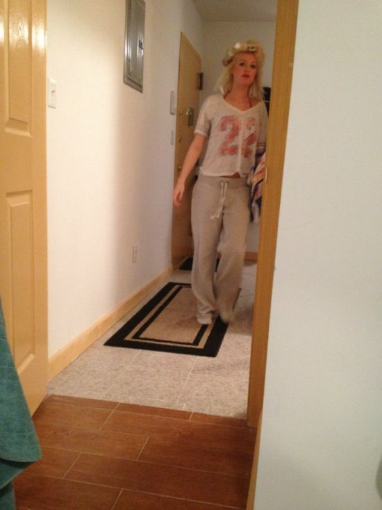 В сеть попали интимные снимки Эшли Бланкеншип (21 фото)