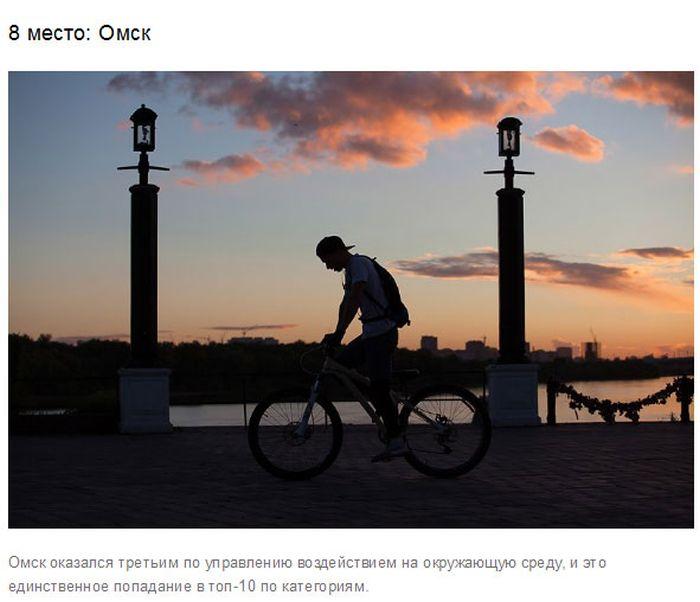 Минприроды назвал самые экологичные города России (10 фото)