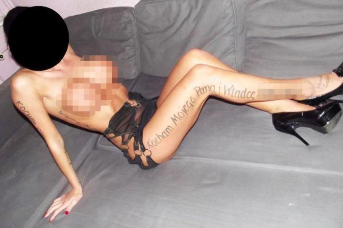 Сутенеры в Польше клеймили проституток (5 фото)