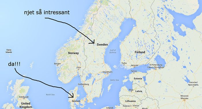 Юмор по-шведски: 10 фраз на случай вторжения русских (10 фото)