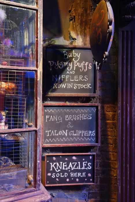 Warner Brothers и ее студия для съемок «Гарри Поттера» (119 фото)