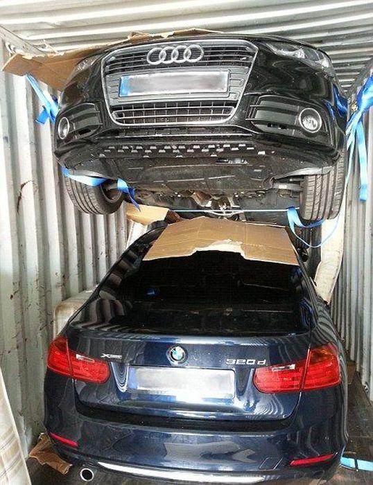 В Великобритании арестовали угонщиков дорогих машин (11 фото)