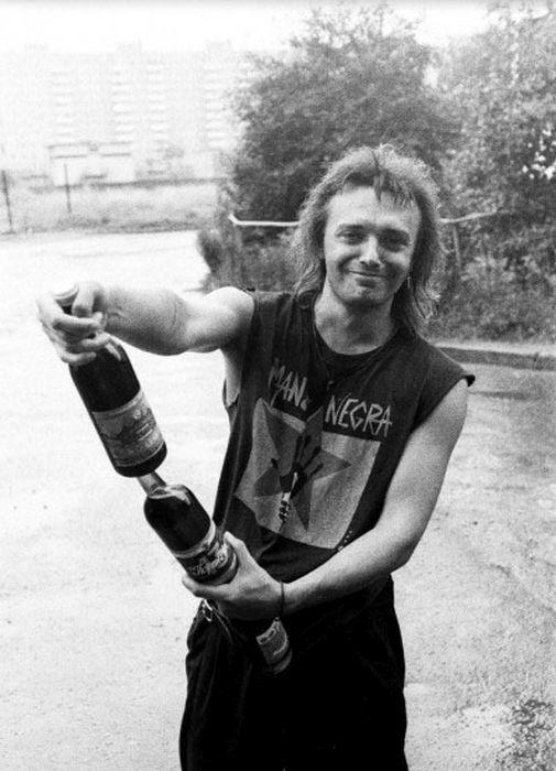 Фотографии из жизни звезд российского рока (50 фото)