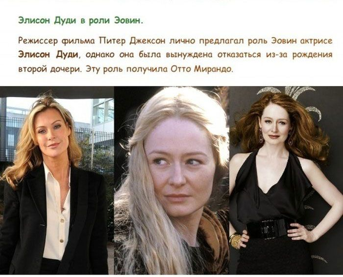 Биография актеров властелина колец