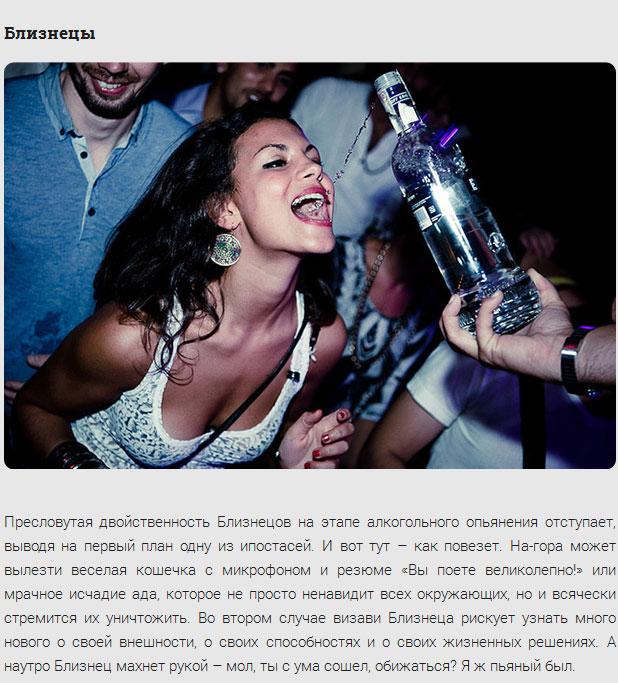 Влияние алкоголя на знаки зодиака (12 фото)
