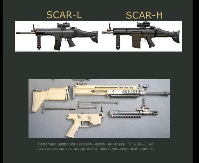 Краткий обзор штурмовой винтовки FN SCAR (6 фото)