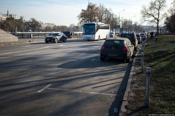 Ловушки для автомобилистов на наших дорогах (27 фото)