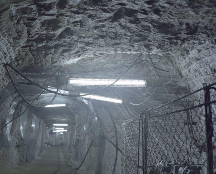 Соляные шахты поселка Солотвино (6 фото)
