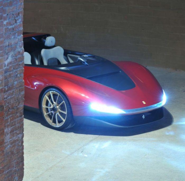 Ferrari Sergio - суперкар за 4 миллиона долларов (45 фото)