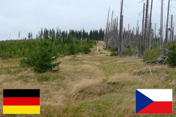 Самые необычные и красивые границы государств (32 фото)