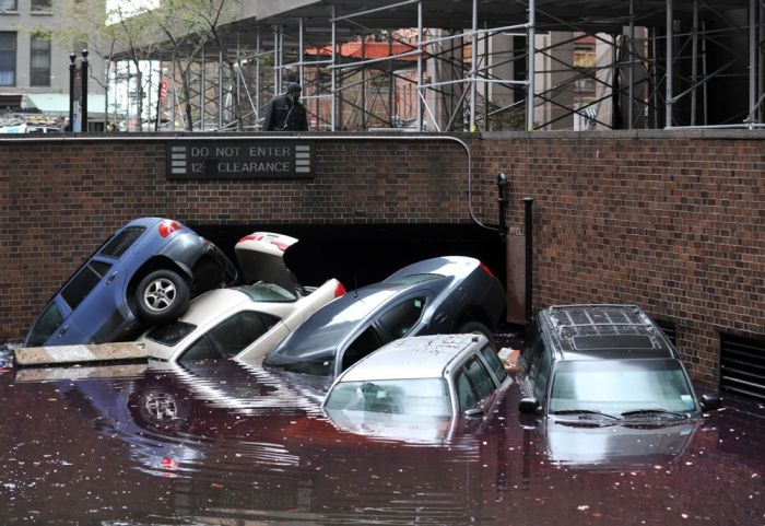 Ураган Сэнди и его катастрофические последствия (71 фото)