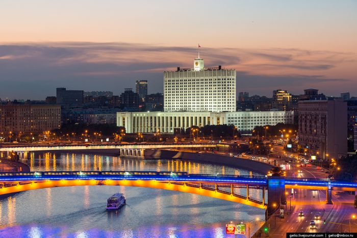 Свежие фото из цикла «Москва с высоты» (66 фото)