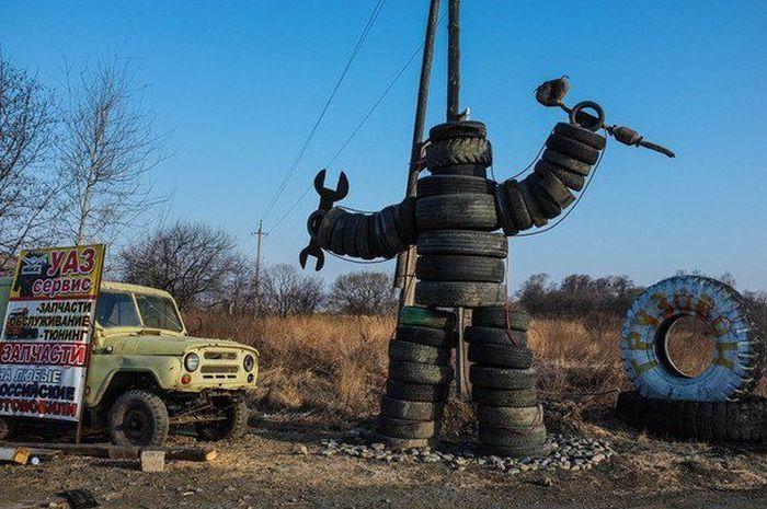 Подборка лучших приколов для автолюбителей (41 фото)