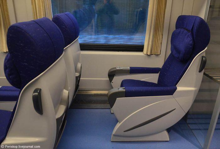 Первые впечатления о поезде «Тальго» (39 фото)
