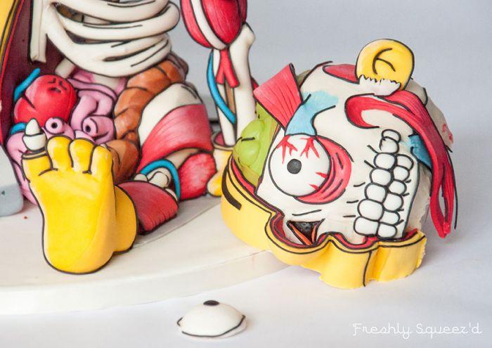 Торт, который стирает границы между едой и искусством (20 фото)