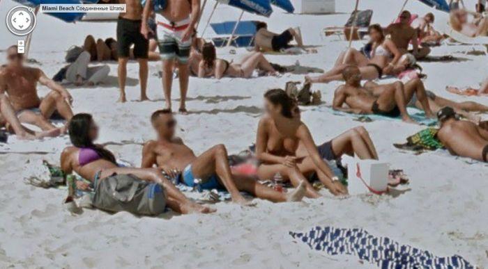 Пляжные фото Google Street View (26 фото)
