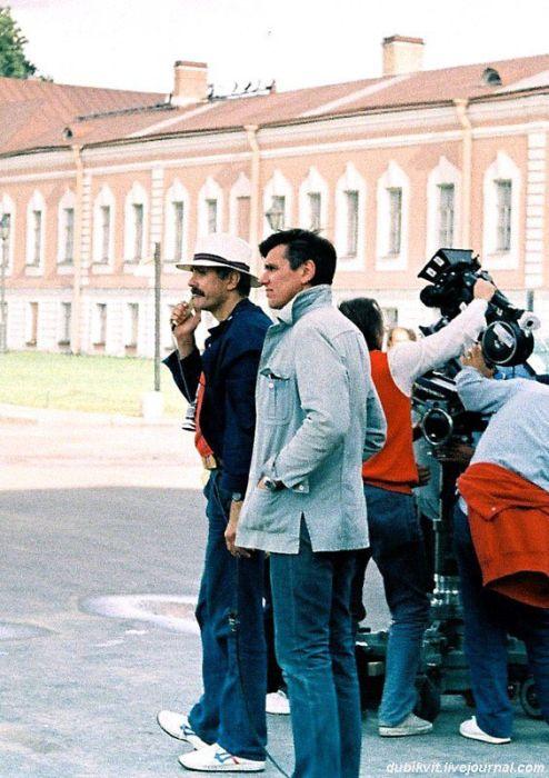 Съёмочные площадки известных фильмов (25 фото)