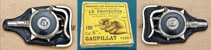 Револьвер самообороны «Le Protector» образца 1882 года (14 фото)