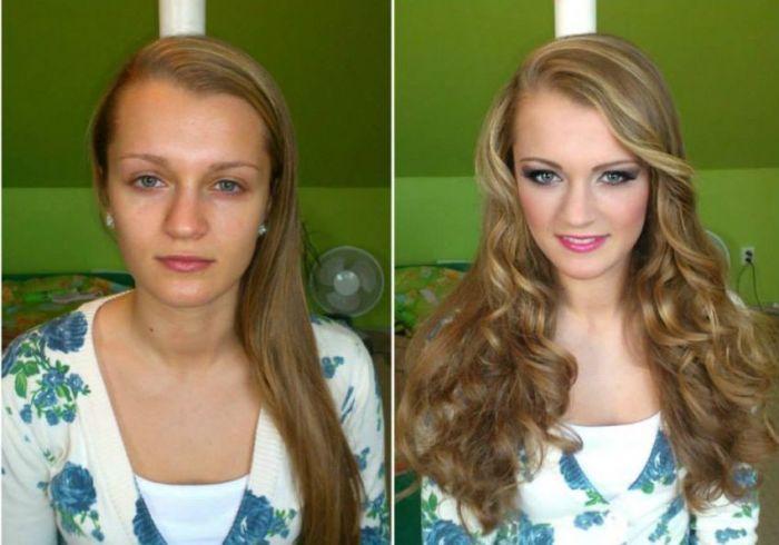 Очередная фотоподборка «макияжных чудес» (23 фото)