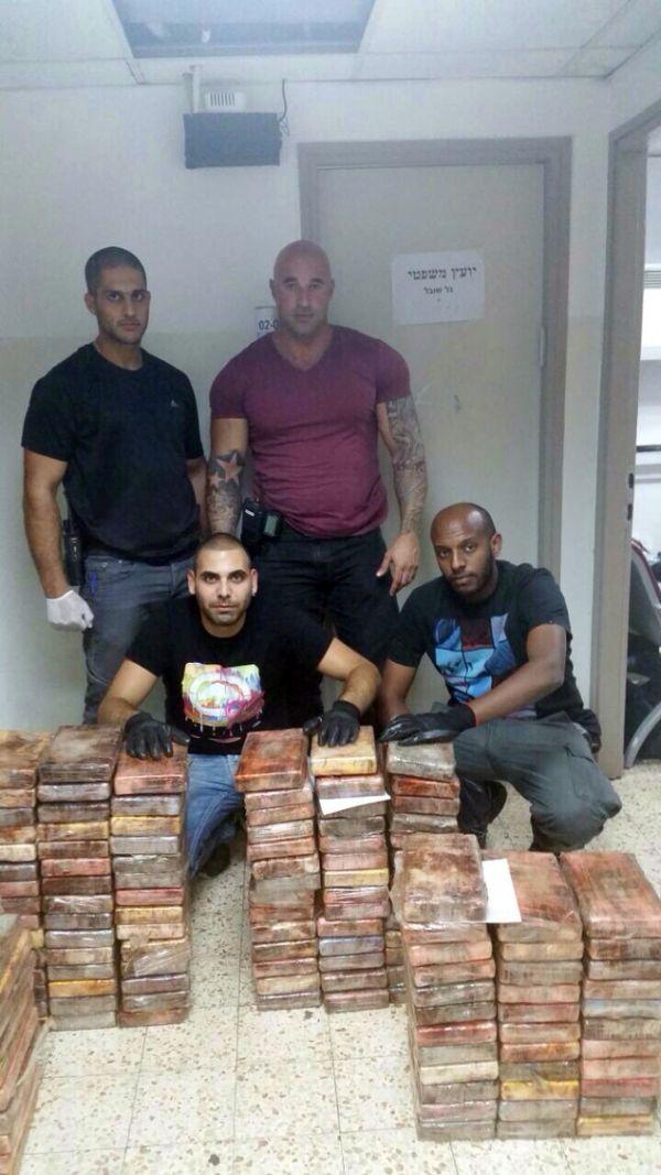В Израиле обнаружили кокаин на сумму 18 379 489$ (3 фото)
