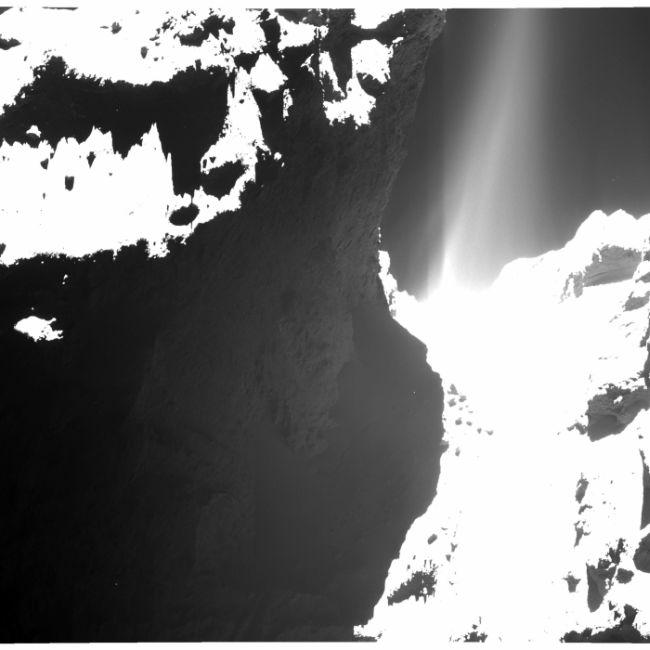 Rosetta Uzay Aracından Kuyruklu Yıldız Bilgileri ( 13 Fotograf )