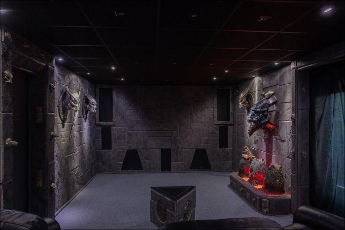 Уникальный дом поклонника фантастики за 320 000$ (21 фото)