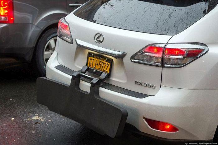 Парковка на улицах Нью-Йорка (11 фото + видео)