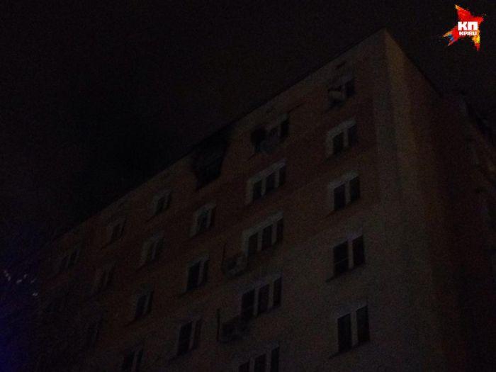 В Москве одновременно произошли пожары в 4-х домах (12 фото + 2 видео)