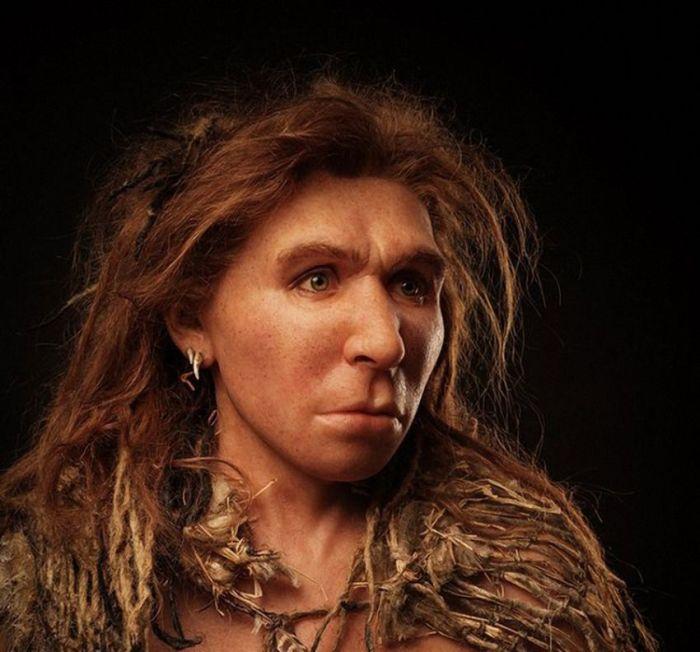 Доисторические люди из глины и силикона (10 фото)