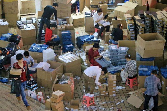 Почта Китая. Трудовые будни