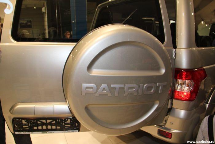 Техинком презентовал новый УАЗ Патриот (56 фото)