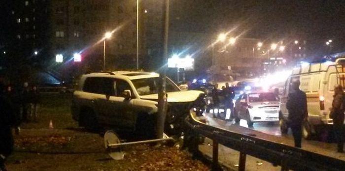В Калининграде пьяный водитель сбил трех девушек (5 фото + видео)