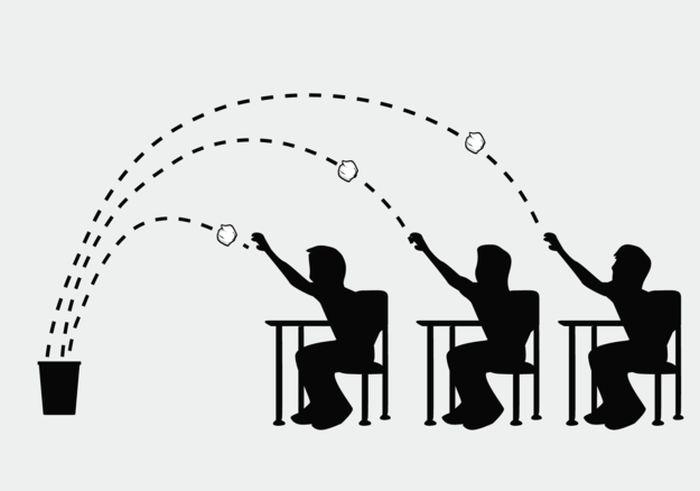 Отличный жизненный урок одного преподавателя (8 картинок)