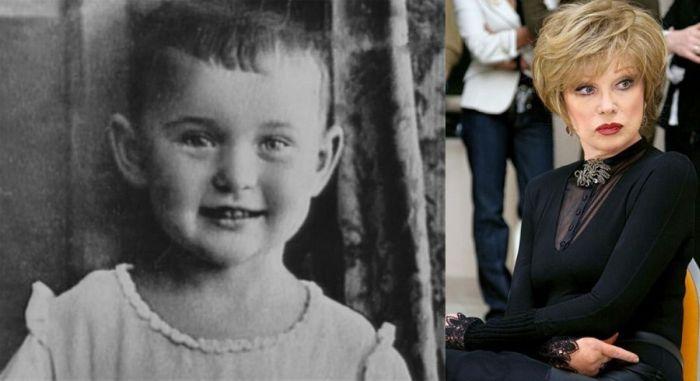 Детские фотографии звезд советского кино и эстрады (29 фото)