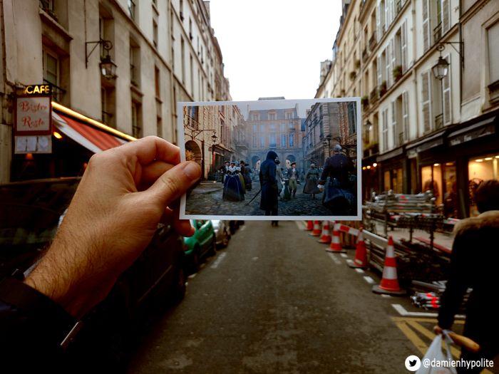 Париж глазами героя игры Assassin's Creed Unity (14 фото)