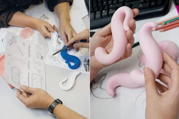 Процесс изготовления фаллоимитаторов (23 фото)