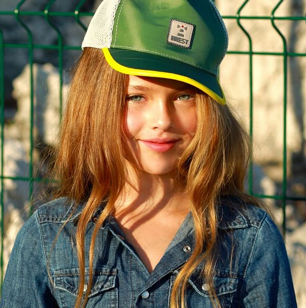 Кристина Пименова - 9-летняя звезда модных журналов (40 фото)