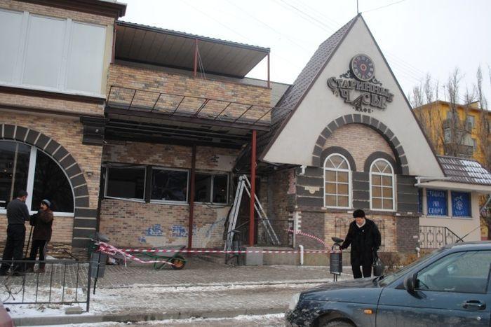 Кафе в Ростове-на-Дону было обстреляно из РПГ (3 фото + видео)