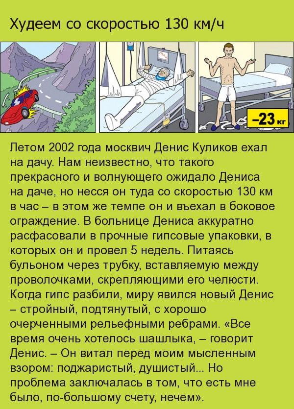 Диеты похудения, работающие в экстремальных ситуациях (10 картинок)