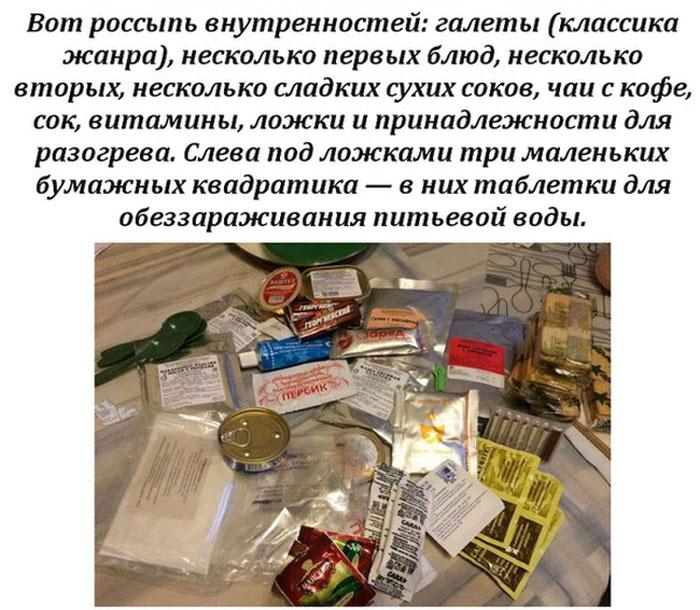 Сухпай бойцов спецназа ФСБ (13 фото)