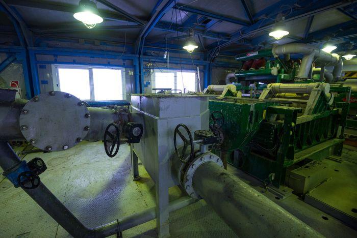 Фоторепортаж с экскурсии по газодобывающей скважине (22 фото)