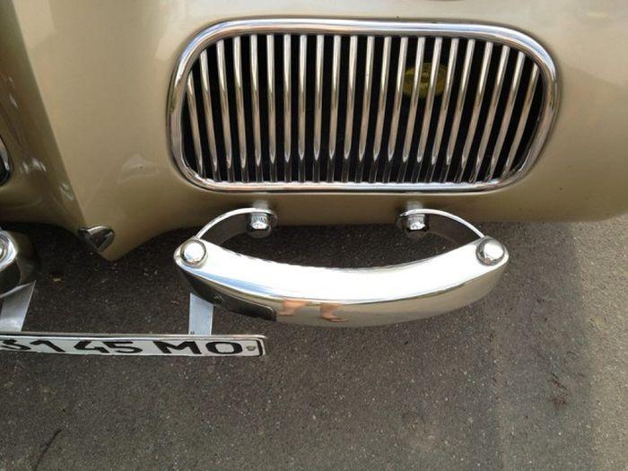 История перерождения раритетного авто ГАЗ-11-73 (10 фото)