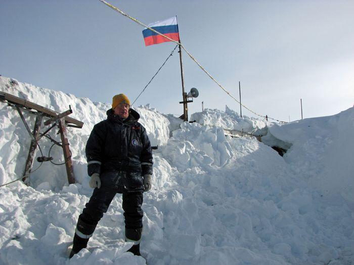 Обычный будний день русского полярника (39 фото)