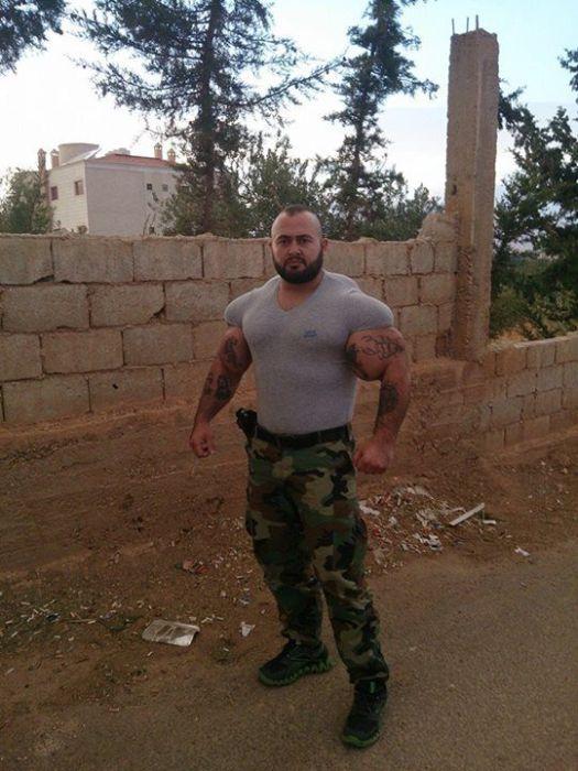 Синтоловый качок в рядах подразделения «Шабих» (24 фото)
