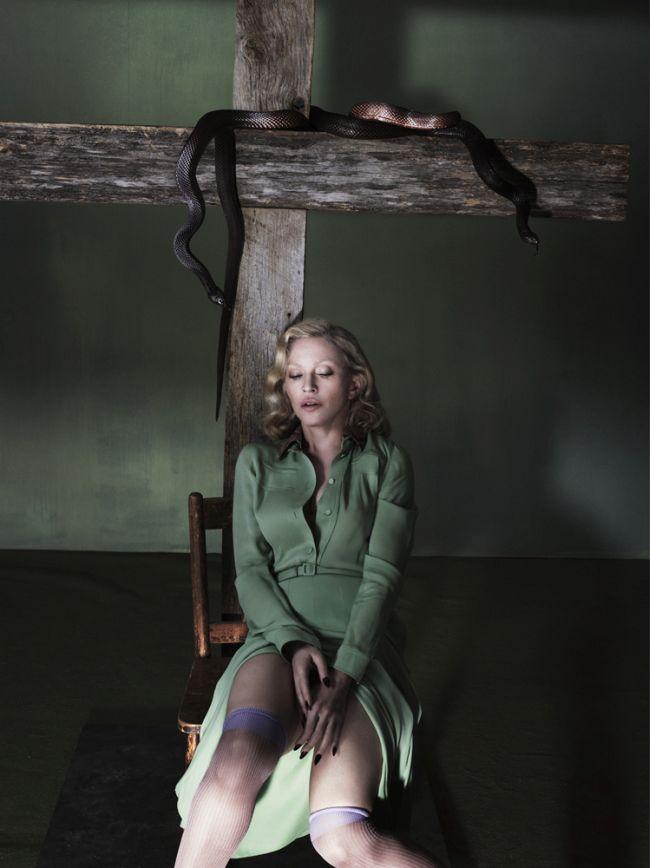 Мадонна снялась в эротической БДСМ фотосессии. НЮ (18 фото)