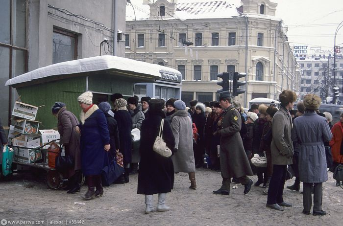 Москва в 1990 году (65 фото)