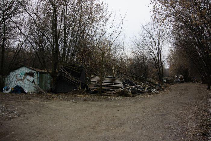 Необычная парковая зона Москвы (35 фото)