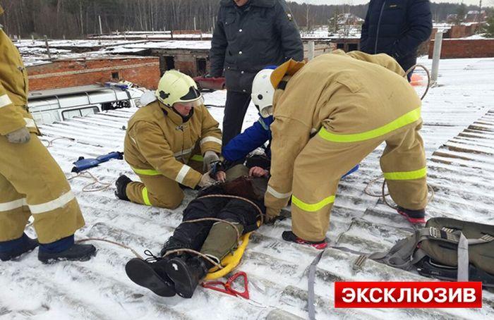 В Подмосковье потерпел крушение МиГ-29УБ (4 фото + 3 видео)