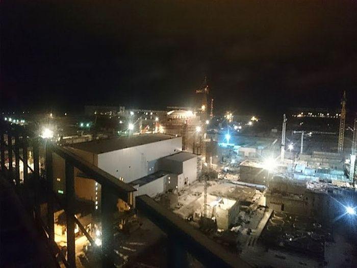Руферы побывали на территории Ленинградской АЭС (11 фото)